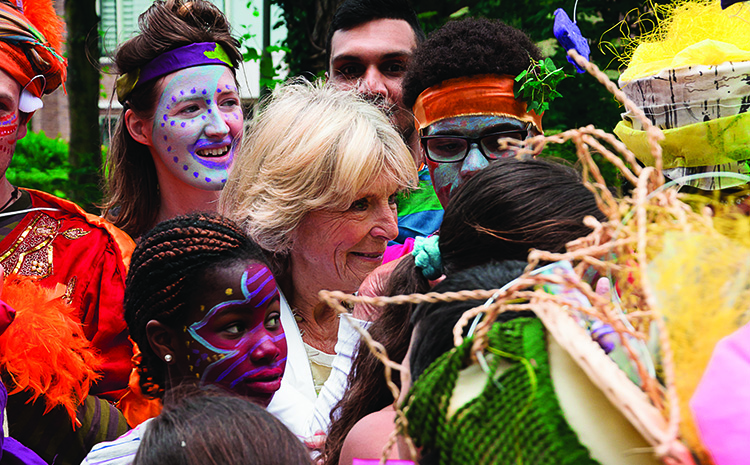 MijnMoerwijk Magazine Konijklijk Bezoek Irene Prinses - Prinses Irene viert de natuur in Moerwijk
