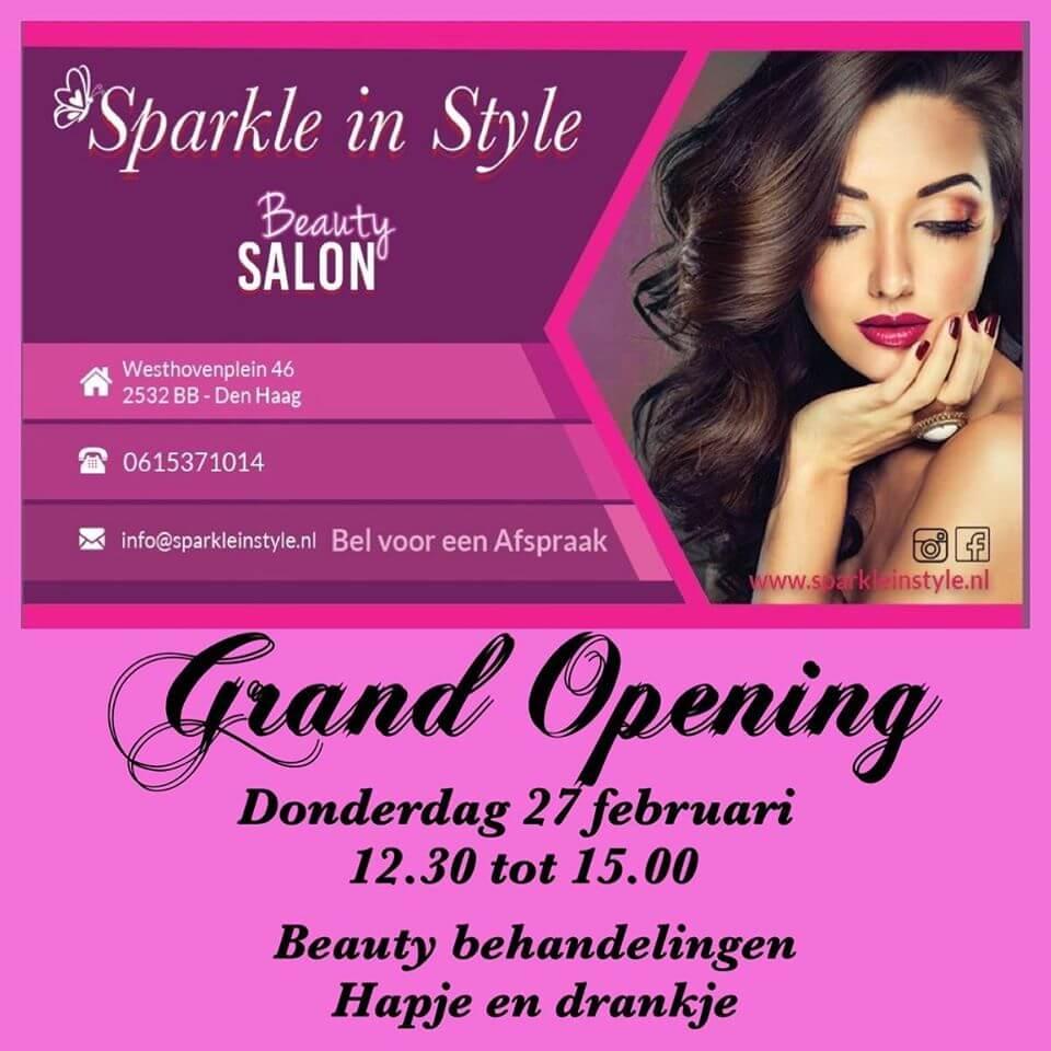 Sparkle in Style opent officieel haar deuren op 27 februari