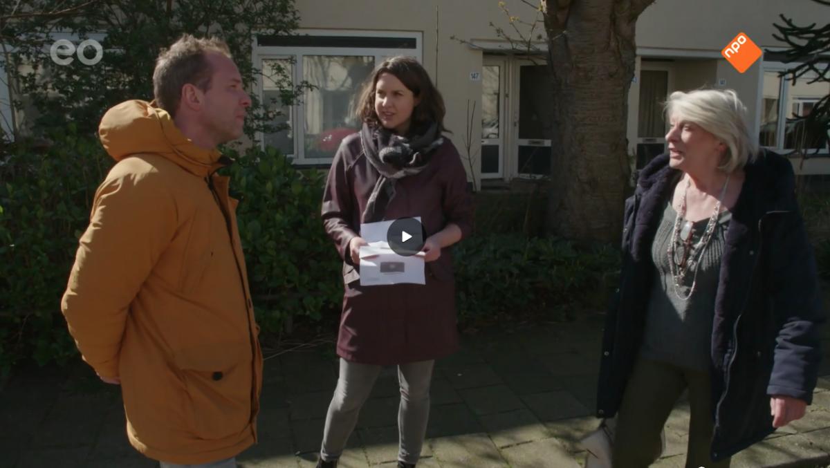 Coronahulp actie Moerwijk in uitzending Nieuwlicht