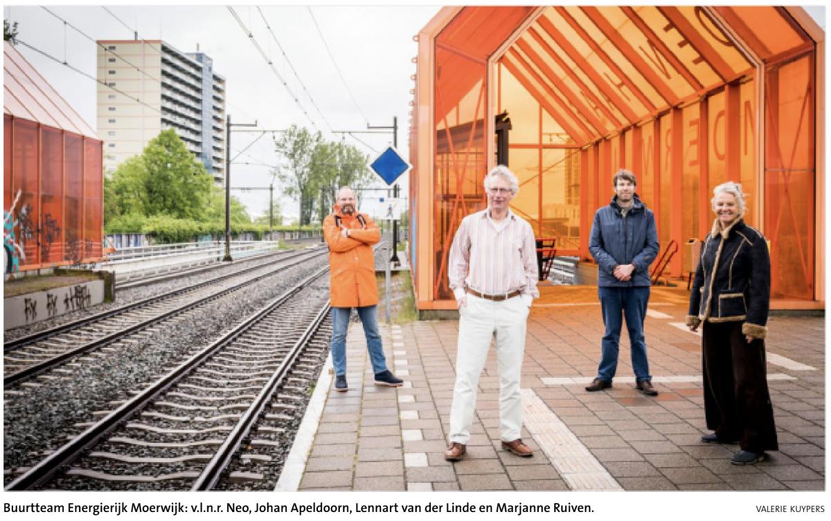 Energierijk Moerwijk werkt aan energietransitie-plan